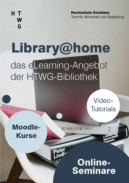 Werbung Angebot library@home