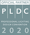 PLDC Logo - professional lighting design convention 2020.